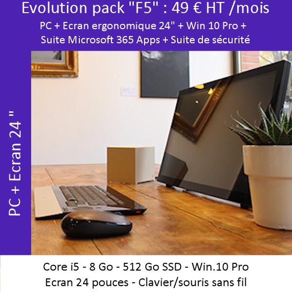 Offre évolutive «Poste fixe» F5
