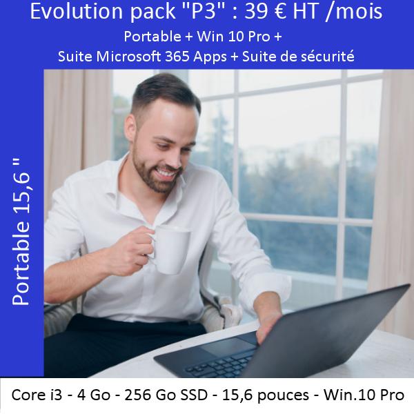 Offre évolutive «Portable» P3