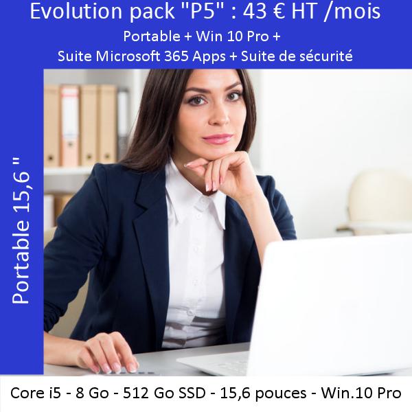 Offre évolutive «Portable» P5