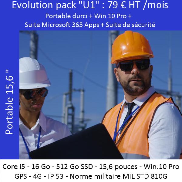 Offre évolutive «Portable durci» U1